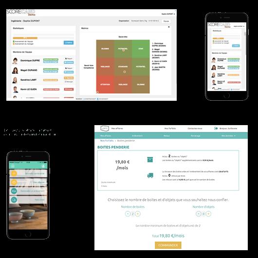 Illustration applications Start-up