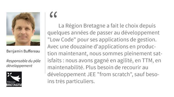 Temoignage de Benjamin Buffereau, region Bretagne