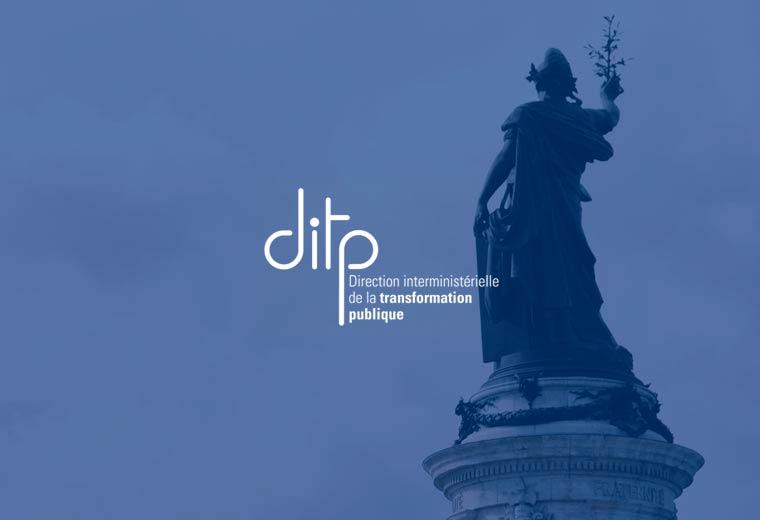 Logo DITP Marianne